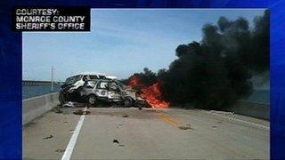 Car Crash In Florida Yesterday